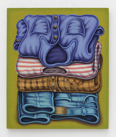 Pedro Pedro, 'Folded Clothes', 2020