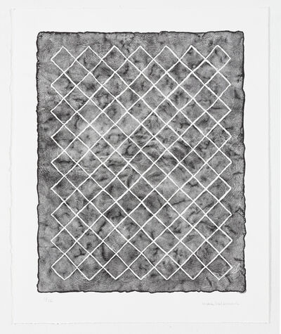Mona Hatoum, 'Untitled (fence, black) I', 2018