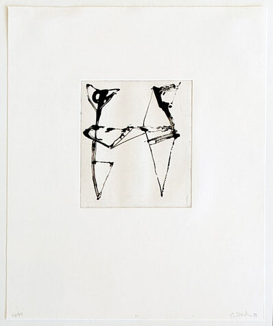 Brice Marden, 'Etching to Rexroth 11', 1986