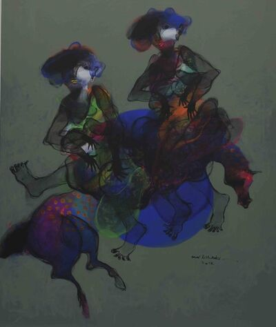 Omar Alshahabi, 'Women on Horse 2 / 2 نساء على حصان', 2018