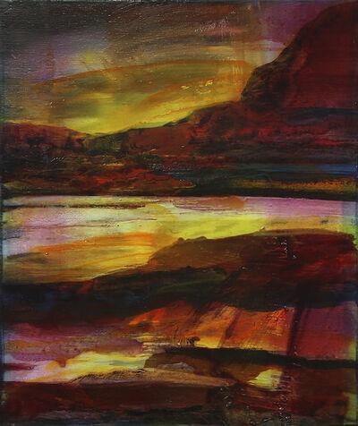 Edouard Wolton, 'Paysage rêvé Red Lands', 2019