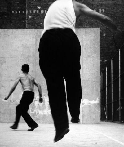 Leon Levinstein, 'Handball Players, Houston Street, New York', 1970