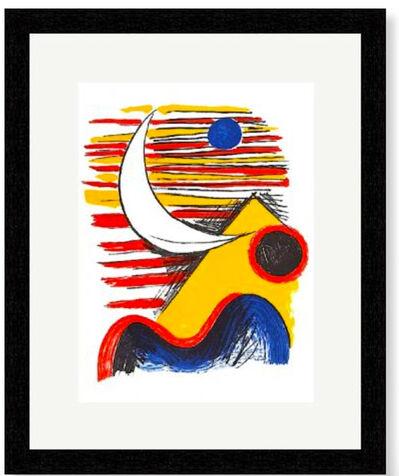 Alexander Calder, ' Moon and Yellow Mountain', 1966