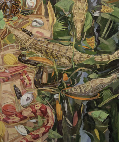 Owen Gray, 'Crocodiles and Red Snake', 2013