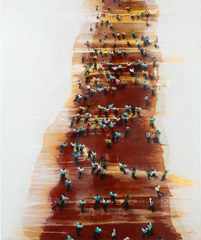 Juan Genovés, 'Trasiego', 2006