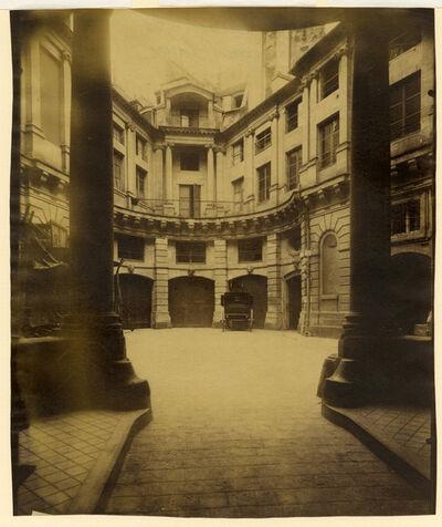Eugène Atget, 'Hotel Beauvais, 68 Rue François Miron Paris', ca. 1900