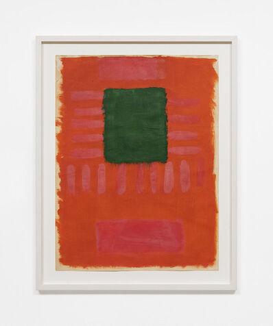 Michael Kidner, 'Discord Green Square Orange & Pink', 1957