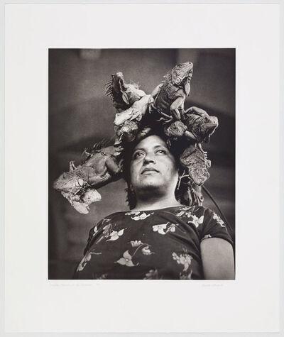 Graciela Iturbide, 'Nuestra Señora de las Iguanas', 1996