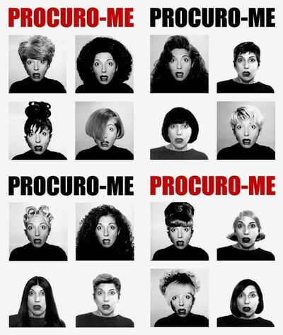 Lenora de Barros, 'Procuro-me', 2001