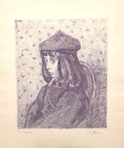 Camille Pissarro, 'Felix Pissarro (The third son of Camille Pissarro)', ca. 1890