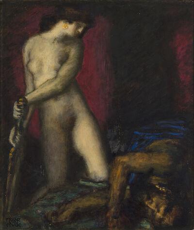 Franz von Stuck, 'Judith and Holofernes', ca. 1927