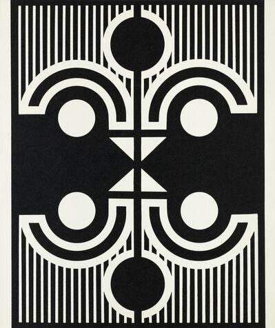 Imre Bak, 'Sun-Bird-Face', 1976