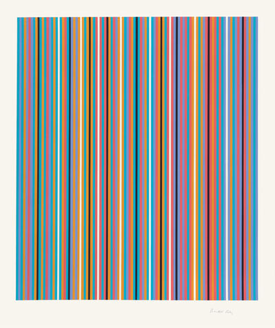 Bridget Riley, 'Ra (Inverted)', 2009