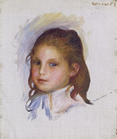 Pierre-Auguste Renoir, 'Child with Brown Hair', 1887/1888
