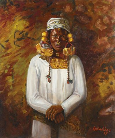 Kehinde Wiley, 'Untitled (Fulani)', 1993
