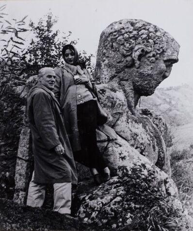 Plinio De Martiis, 'De Kooning & Marisol in Bomarzo', 1959