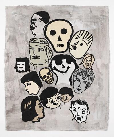 Donald Baechler, 'Crowd #11', 2011