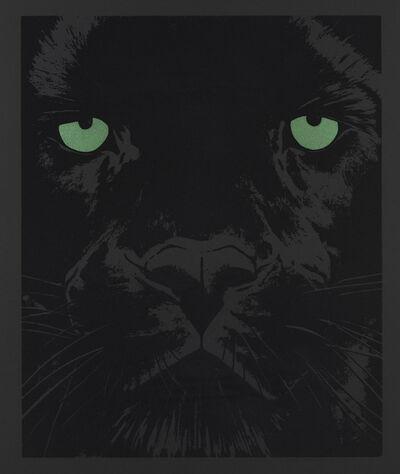 Rose Corcoran, 'Black Panther on Black '