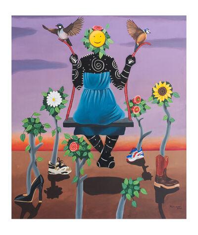 Kelechi Nwaneri, 'Force a smile', 2020