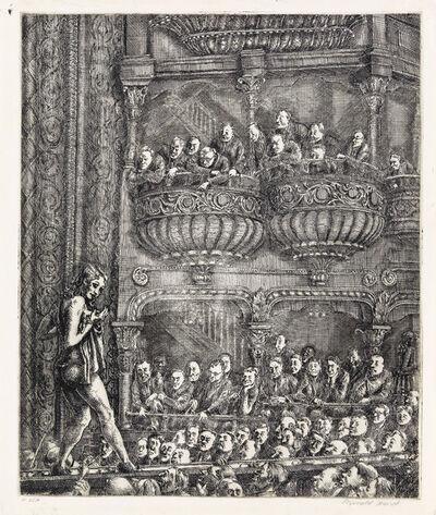 Reginald Marsh, 'Gaiety Burlesque', 1930