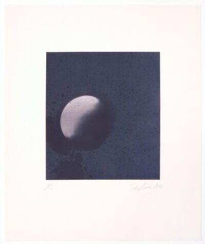 Joe Goode, 'Untitled (Moonrise) print #3', 1998