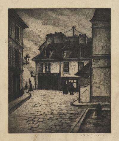 Christopher Richard Wynne Nevinson, 'La Butte Montmartre', 1922