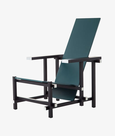 Gerrit Thomas Rietveld, '635 Black Red And Blue (Zeilmaker Version)', Designed 1920-produced 2015