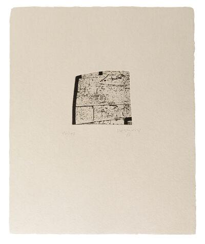 Eduardo Chillida, 'Clara Janés: La indetenible Quietud VI', 1998