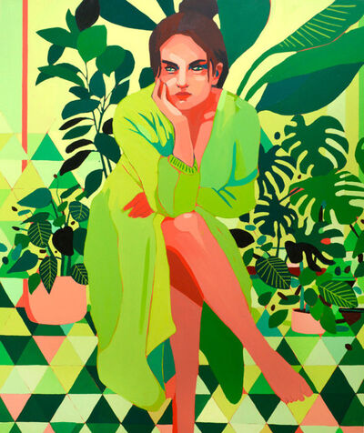 Patrick Puckett, 'Green Dress', 2021