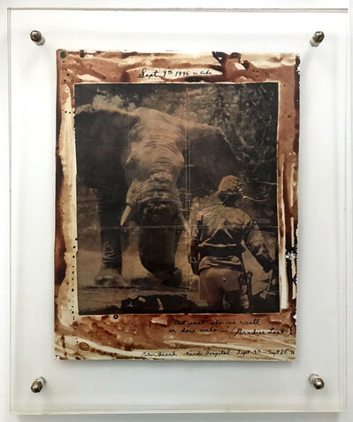 "Peter Beard, '""But Past Who Can Recall Or Done Undo"" Paradise Lost', 1996"