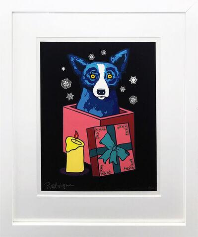George Rodrigue, 'MIDNIGHT SURPRISE (BLUE DOG)', 2000