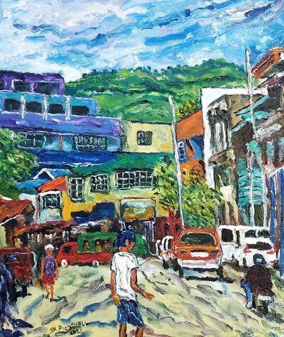 Jose Mari Picornell, 'Calle Borromeo y Sanciangko', 2021
