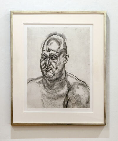 Lucian Freud, 'Large Head', 1993