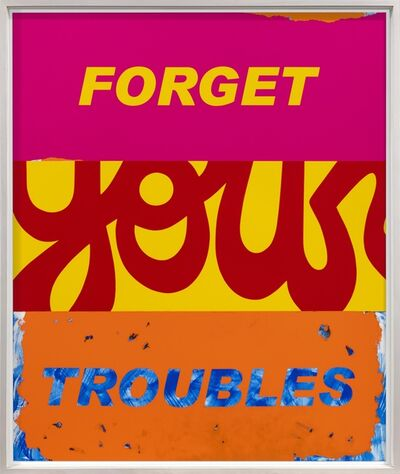 Deborah Kass, 'Forget Your Troubles', 2019