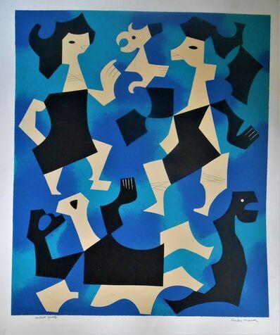 Carlos Merida, 'La Endecha', 1978