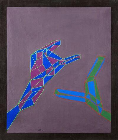 Achille Perilli, 'Senza anima e senza luce', 1969