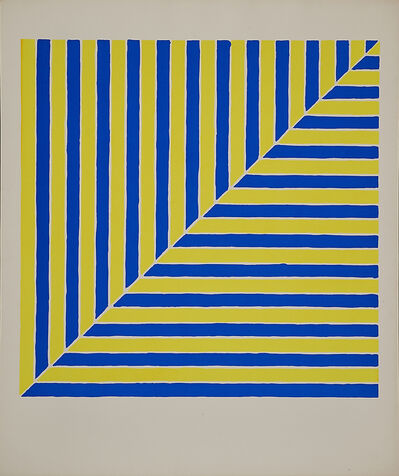 Frank Stella, 'Untitled (Rabat) from X + X  from Ten Works by Ten Painters'