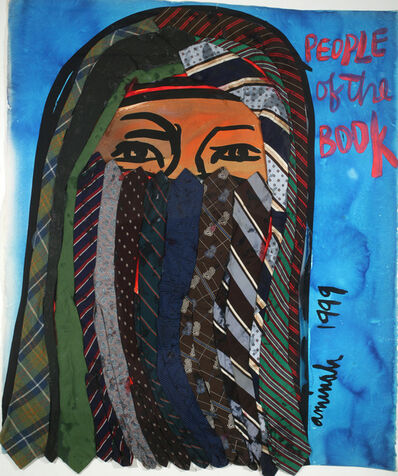 Aminah Brenda Lynn Robinson, 'People of the Book: Bedouin Woman', 1999