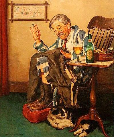 Harold Anderson, 'Ballentine Beer Advertisement', ca. 1940