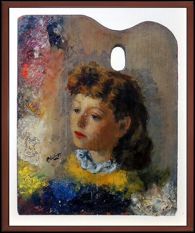 Robert Philipp, 'Robert Philipp Rare Original Painting Oil On Board Signed Portrait Artwork SBO', 20th Century