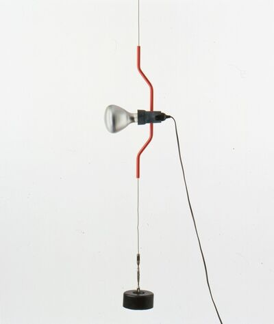 "Achille Castiglioni and Pio Manzu, '""Parentesi"" lampada', 1970"