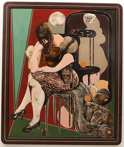 Alex Feuerstein, 'Frau mit Fuchspelz (woman with fox fur)', 2016