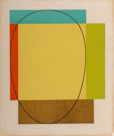 Robert Mangold, 'Five Color Frame', 1985