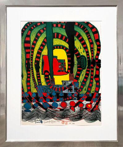 Friedensreich Hundertwasser, 'Seereise II- Reise zur See und mit der Bahn', 1967