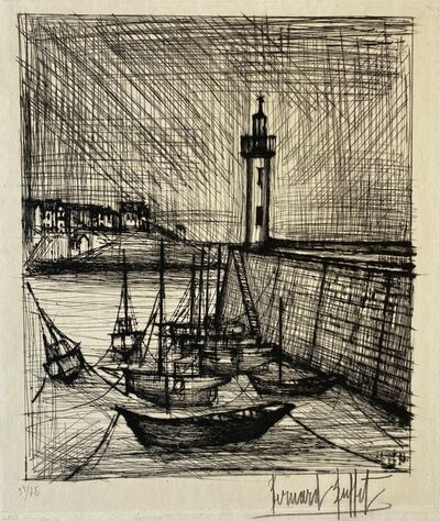 Bernard Buffet, 'Le Phare (The Lighthouse)', 1958