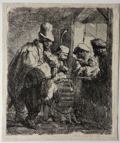 Rembrandt van Rijn, 'The strolling Musicians', ca. 1635