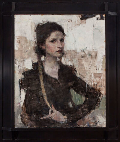 Ron Hicks, 'The Girl With Braids', 2018