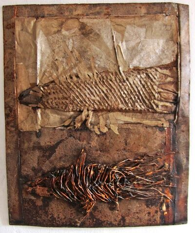 Brunivo Buttarelli, 'Celacanto ieri e oggi / Coelacanth yesterday and today', 2011