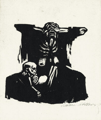 Käthe Kollwitz, 'Hunger', 1922