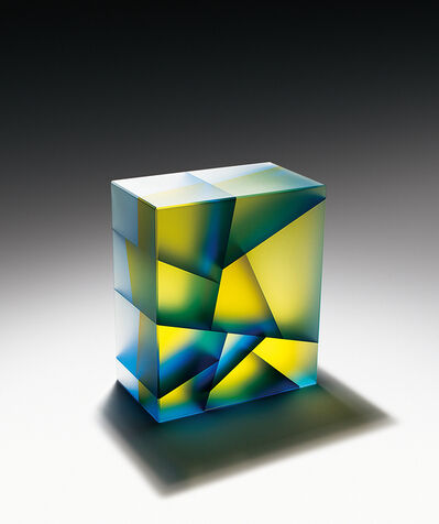 Jiyong Lee, 'Blue-Yellow Cuboid', 2015